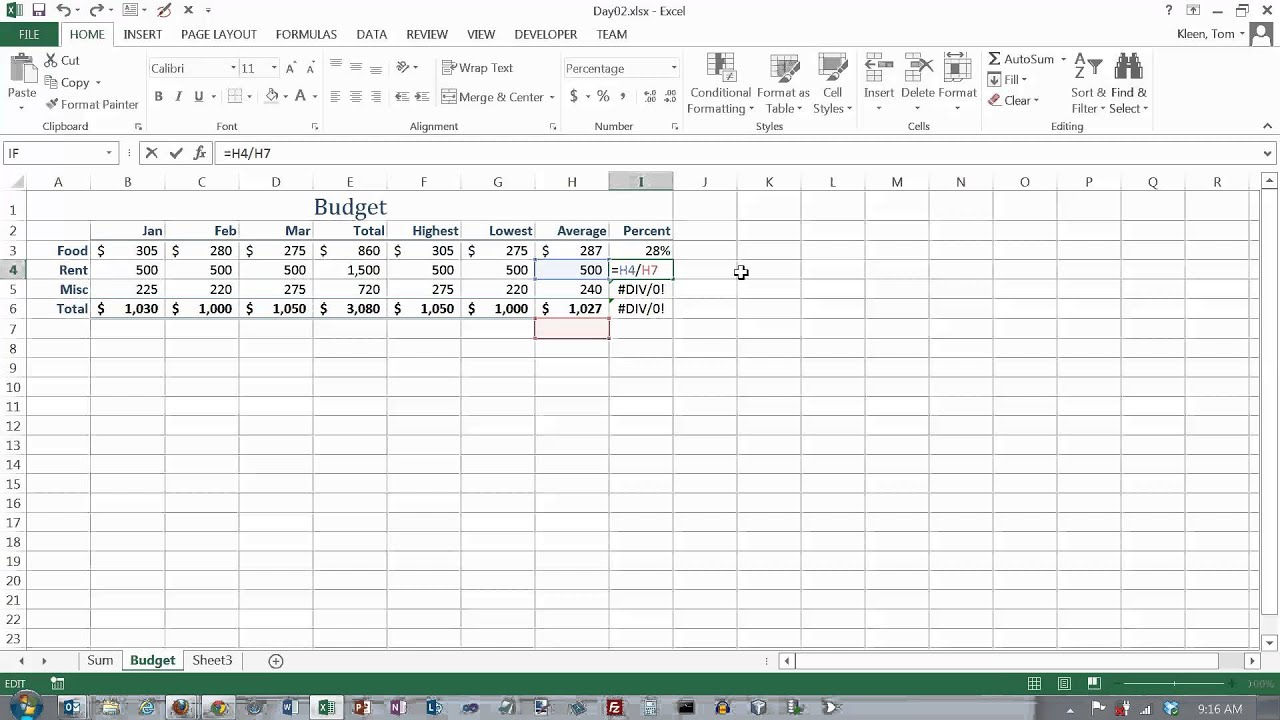 How to make an excel formula absolute - How To Make An Excel Formula Absolute 1