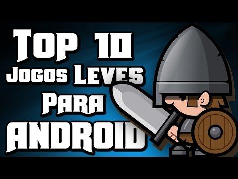 Os 10 Melhores Jogos LEVES Para Android - #49 2015