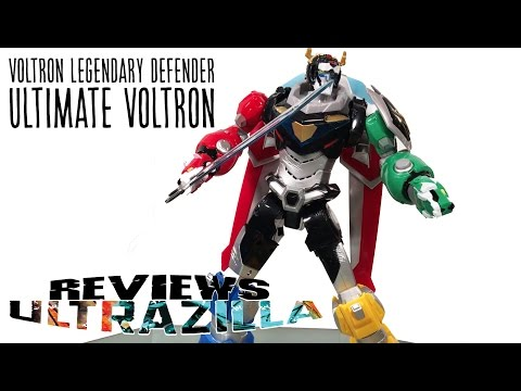 VOLTRON LEGENDARY DEFENDER ULTIMATE VOLTRON (NON-COMBINING, SUPER ARTICULATED!) REVIEW!