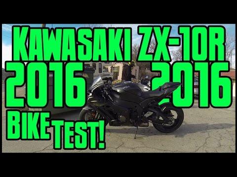Bike Test! 2016 Kawasaki ZX-10R!