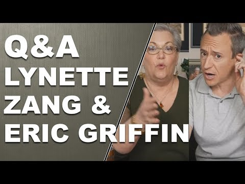 Q & A with Lynette Zang and Eric Griffin 12/12/2017