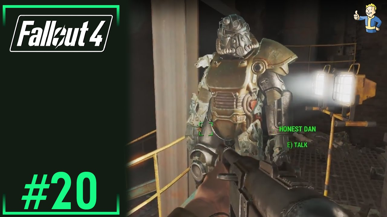 fallout 4 ep20 covenant compound aka he took my power armor