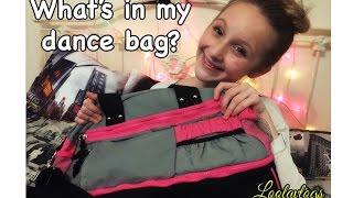 Whats in my dance bag? | Loolavlogs