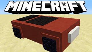 Minecraft: CARRO QUE FUNCIONA NO MINECRAFT !! ( Sem mods )