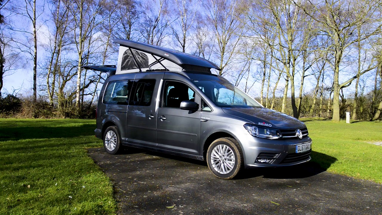motorhome review reimo vw caddy camp maxi youtube. Black Bedroom Furniture Sets. Home Design Ideas