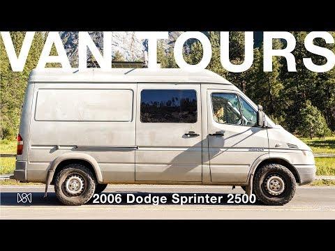 Van Tours: Climber Kaya Lindsay Takes Us Through Her 2006 Dodge Sprinter Van