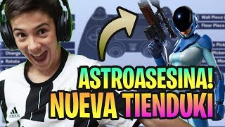 THE NEW STORE OF *FORTNITE* TODAY 8 SEPTEMBER WITH NEW SKIN ASTROAASESINA