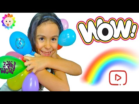 Thumbnail: BABY FINGER Family with Balloons SONG & Real Babies Nursery Rhymes Simple Songs for Learn Colors #2