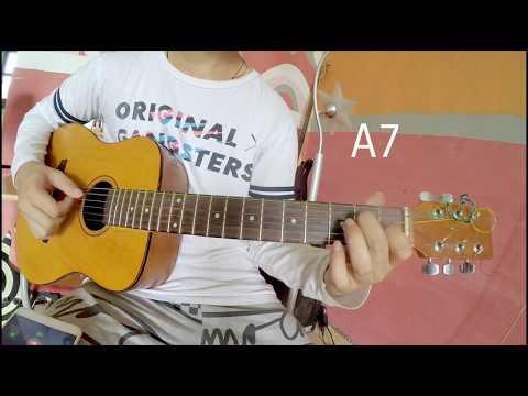 Cover gitar Virgoun - Bukti ( lesson Gitar ) intro part Tanpa capo virgon