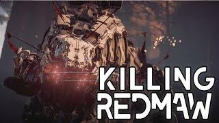 Horizon Zero Dawn: Killing Redmaw