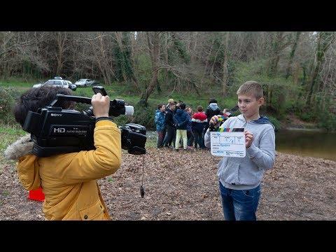 Des cinéastes en herbe à l'école de Saint-Julien-en-Born