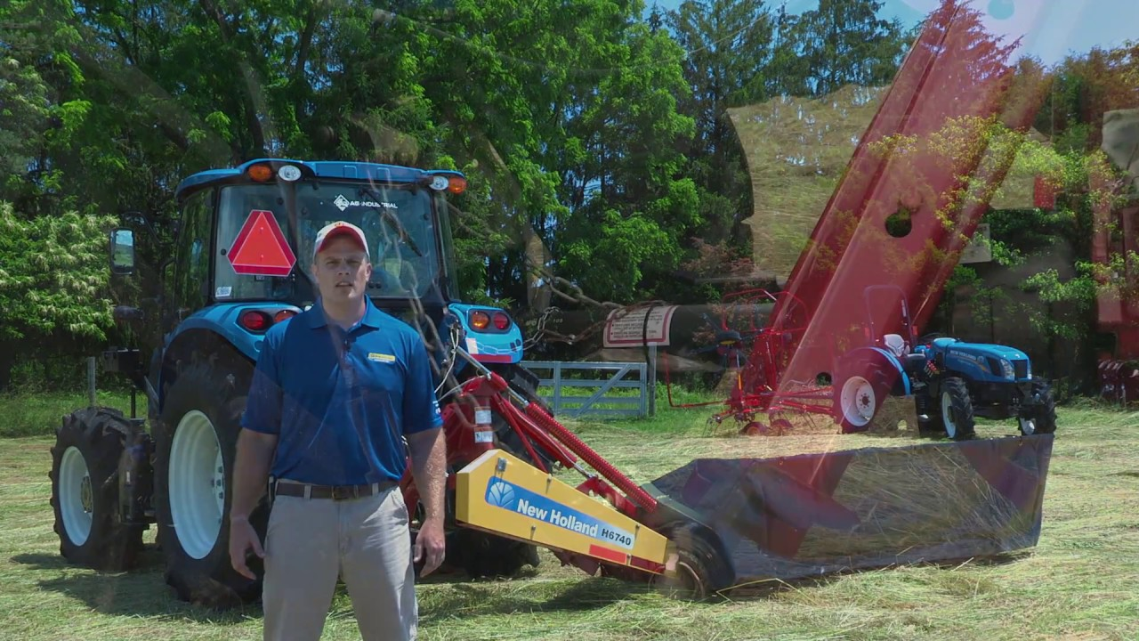 How to set up your New Holland H6000 Series Disc Mower