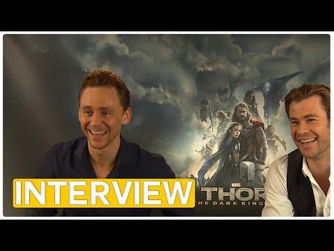 Thor 2 | Chris Hemsworth & Tom Hiddleston EXCLUSIVE Interview (2013)