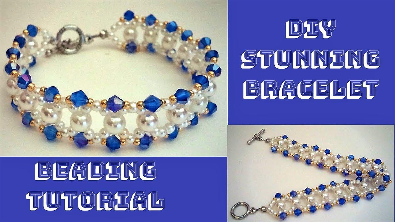 Stunning Bracelet Diy Beaded