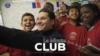 LA MINUTE CLUB : DIALLO & DRAXLER EN VISITE A L'ECOLE ROUGE ET BLEU