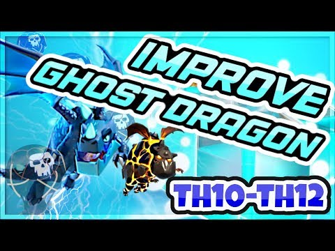 How to Improve Your Electrone Dragon Attack! | Ghost Electro Drag 3 Star Strategy with Crunch Gaming