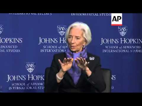 The head of the International Monetary Fund warns that leading nations need to embrace bold policy s