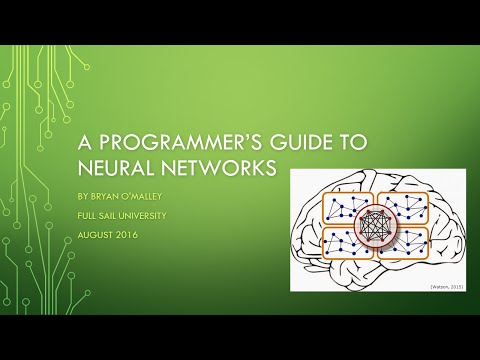 A Programmer's Guide to Neural Networks