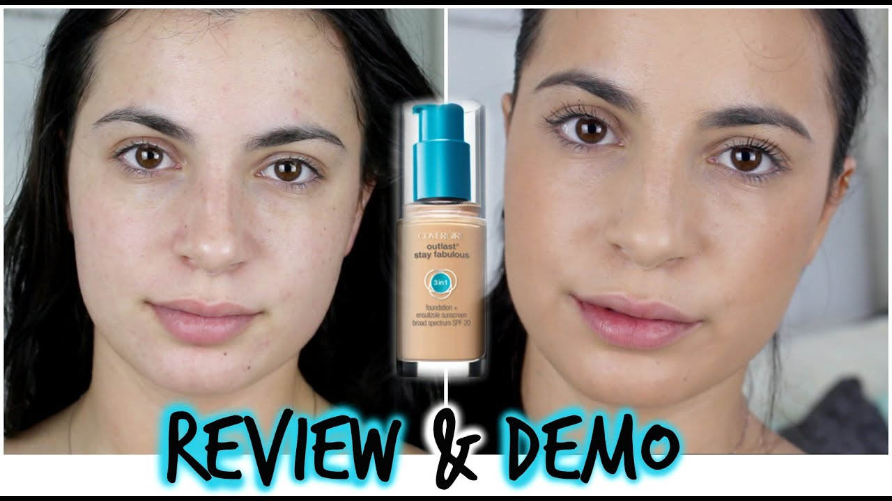 Covergirl Outlast Stay Fabulous 3-in-1 Foundation | Review