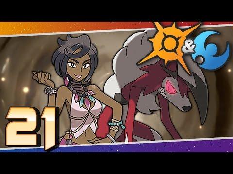 Pokémon Sun and Moon - Episode 21   Akala Island Grand Trial!
