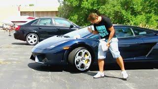 Extra Footage | Prankster Got Tased Because of Poop on Lamborghini Prank