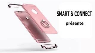 coque luxe iphone anneau