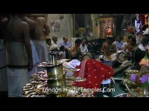 Day 13 Annual Maha Festival At Shree Ghanapathy Temple Wimbledon,London 19-07-2012