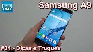 Neste vídeo algumas dicas e truques com o Samsung Galaxy A9 2016. S...