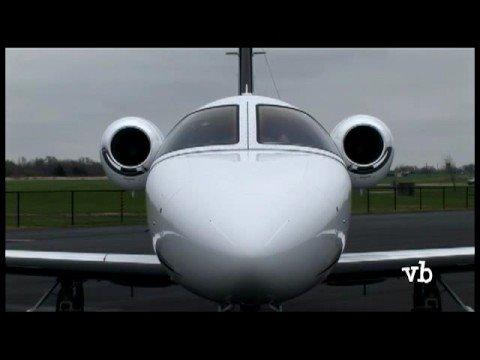 Aero-taxi GlobeAir first Cessna Citation Mustang