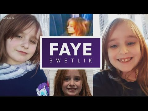Faye Swetlik died from asphyxiation hours after abduction, coroner ...