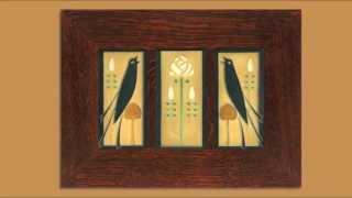 Framing Art Tiles Into Tile Frames Such As Motawi Tiles