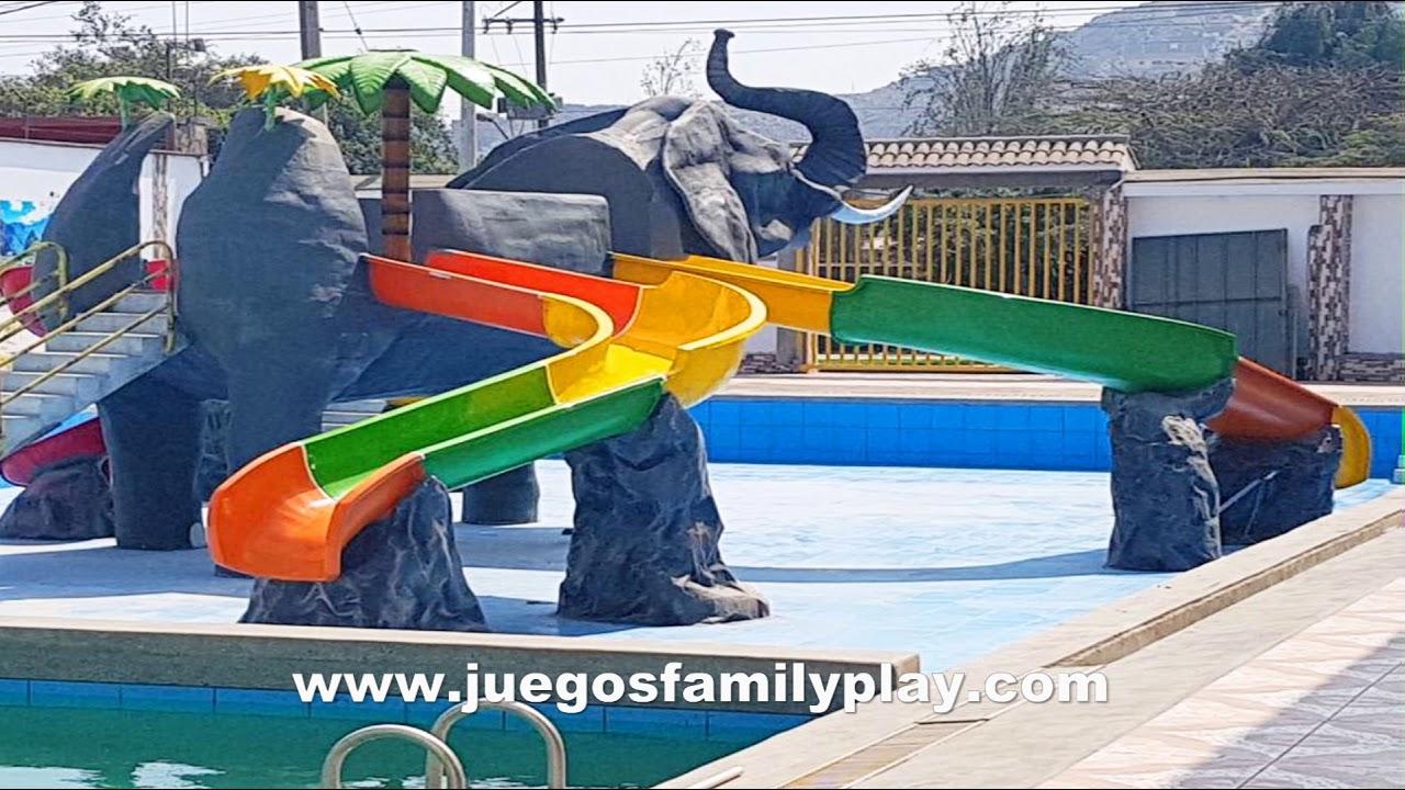 juegos de piscina con tobogan gratis
