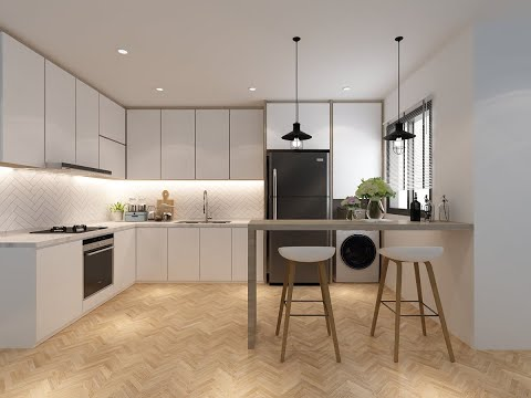 How To Create A Kitchen Scene Using 3ds Max And Vray In 30 Minutes ( Tutorial For Beginners )