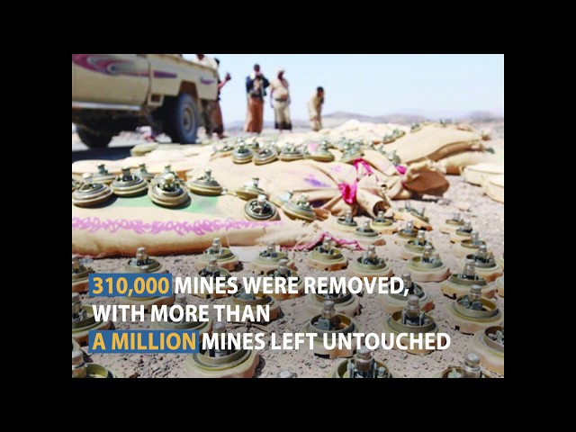 One million mines still waiting for Yemenis