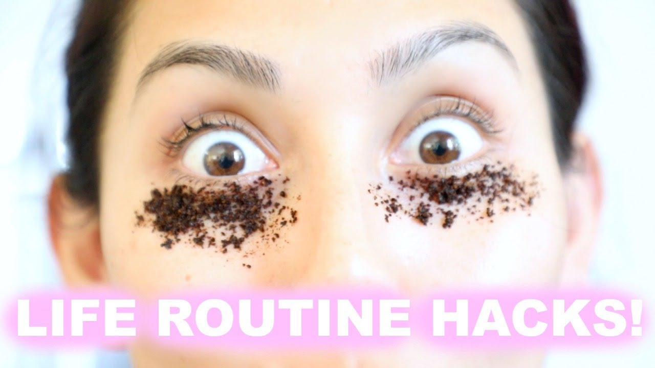 TOP 10 TIME SAVING BEAUTY ROUTINE HACKS EVERY GIRL NEEDS TO KNOW! | BEAUTYYBIRD