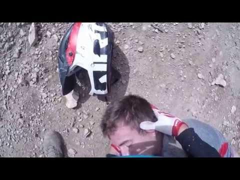 Big Sky Mountain Bike Crash August 2015