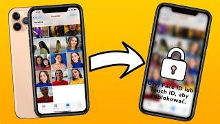 JAK ZABEZPIECZYĆ ZDJĘCIA W iPHONE HASŁEM?📲 (TOUCH ID LUB FACE ID) 🔵 screenshot 2