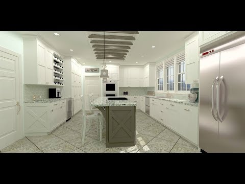 Chief Architect X9 Kitchen Demonstration