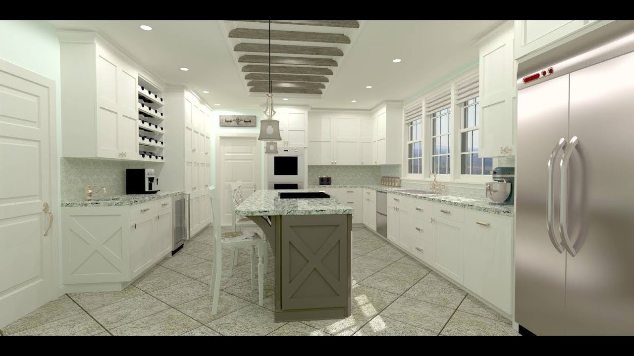 Chief Architect X9 Kitchen Demonstration - YouTube