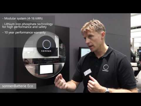 Sonnen Battery Eco - interview with Martin Allman