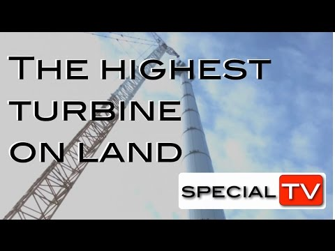 The highest turbine on land, Lagerwey L136 - Eemshaven  The Netherlands