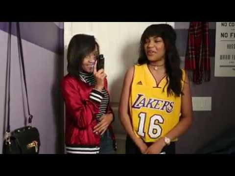 Karaoke challenge lauryn ft China anne mcclain subsribe for more video