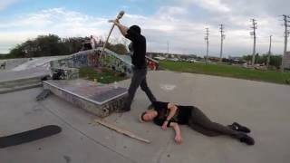 How to Deal With Snakes at a Skateboard Park!