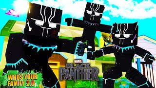 FILMES DE HEROIS? I AGENTED THE RITUAL OF THE BLACK PANTHER WITH SUPER POWERS IN THE MINECRAFT