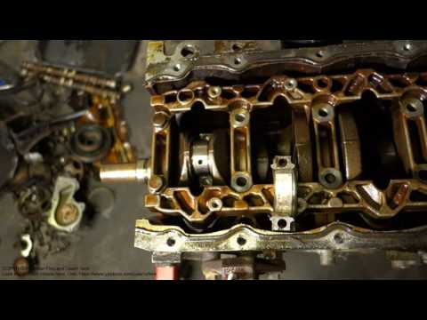 How to replace connection rod bearings Ford Zetec engine