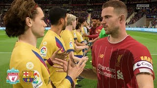 ... after last years epic semi final matchup!, fifa 20 welcomes liverpool vs barcelona! relive