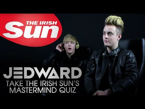 Jedward take The Irish Sun's Mastermind quiz