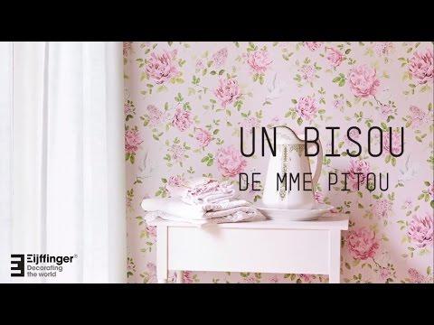 Eijffinger Un Bisou De Mme Pitou 2016 - обои для стен