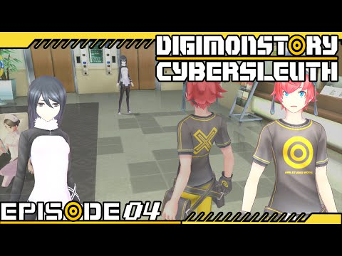 Digimon Story : Cyber Sleuth - Ep 4 : Central Hospital General Ward
