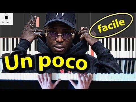 Ninho - Un Poco - Piano Cover Tutorial + Paroles/Lyrics (instrumental Ninho)